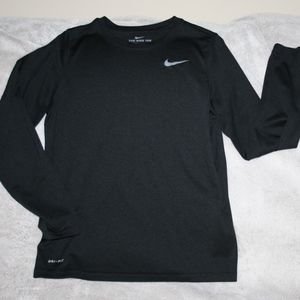 NIKE DRI FIT Youth Large Warm Up/Base Layer Top